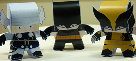 Paper toy site