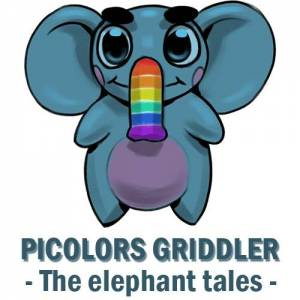 JEU INDE - Picolors Griddler - The Eleph